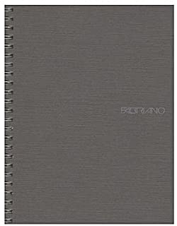 Image of Notebook Fabriano Ecoqua Spiral A5 Blank Stone