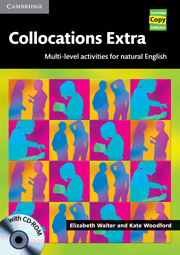 Image of Collocations Extra : Book With Cd-rom
