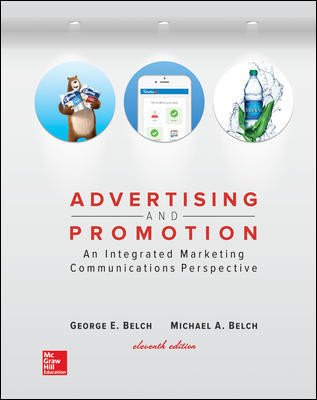 Advertising And Promotion : An Integrated Marketing