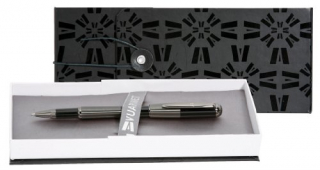 Image of Pen Vuarnet Skipper Rollerball Black & Gunmetal