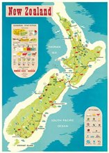 Statistics Of Nz On Map Cavallini Wrap