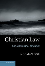 Image of Christian Law : Contemporary Principles