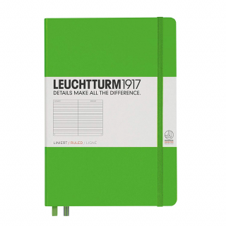 Image of Journal Leuchtturm 1917 Medium Lined Fresh Green