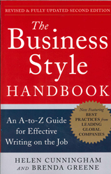 Business Style Handbook : An A To Z Guide For Effective Writing On The Job