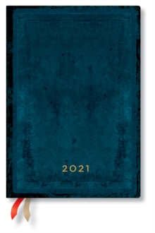 Image of Calypso Bold 2021 Diary Midi Week At A Time Horizontal Format