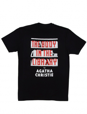 Image of The Body In The Library : Unisex Small T-shirt