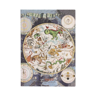 Image of Celestial Planisphere 2020 Diary Week At A Time Midi Horizontal Format