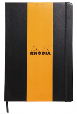 Image of Notebook Rhodia Webnotebook A4 Plain Black