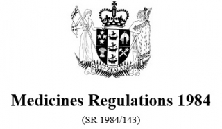 Image of Medicines Regulations 1984 Reprint As At 6 August 2015