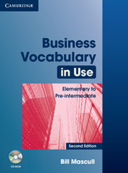 Image of Business Vocabulary In Use : Elementary To Pre-intermediate With Answers + Cd-rom