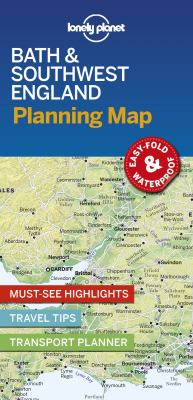 Image of Lonely Planet Bath And Southwest England Planning Map