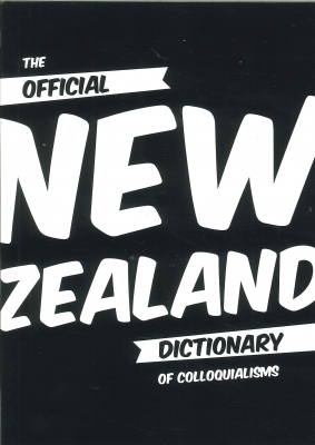 Image of Official New Zealand Dictionary Of Colloquialisms