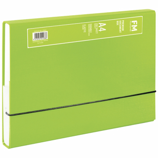 Image of Document Box Fm Premium A4 Lime Green