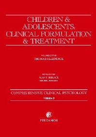 Image of Children And Adolescents Clinical Formulation And Treatment : Comprehensive Clinical Psychology : Volume 5