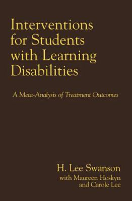 Image of Interventions For Students With Learning Dissabilities : A Meta-analysis Of Treatment Outcomes