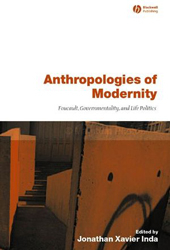 Image of Anthropologies Of Modernity Foucault Governmentality & Life Politics