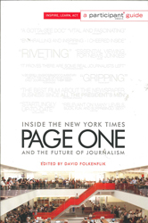 Image of Page One : Inside The New York Times And The Future Of Journalism