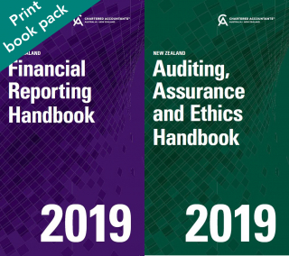 Image of Financial Reporting Handbook 2019 New Zealand + Auditing Assurance And Ethics Handbook 2019 New Zealand
