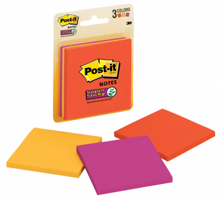 Image of Post It Notes 76 X 76mm Marrakesh Super Sticky 135 Pack