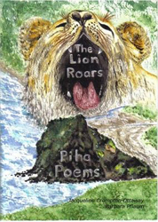 Image of Lion Roars Poems & Painting Portraying Piha