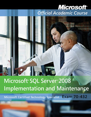 Image of 70-432 Microsoft Sql Server 2008 : Implementation And Maintenance Textbook And Lab Manual Set