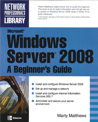 Image of Microsoft Windows Server 2008 : A Beginner's Guide