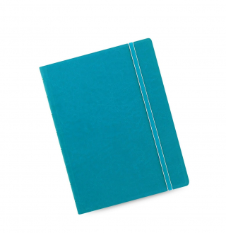 Image of Notebook Filofax Refillable A5 Aqua