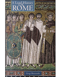 Image of Legal History Of Rome