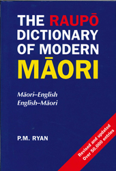 Image of Raupo Dictionary Of Modern Maori