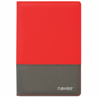 Image of Notebook Never A5 Fabric Orange Grey