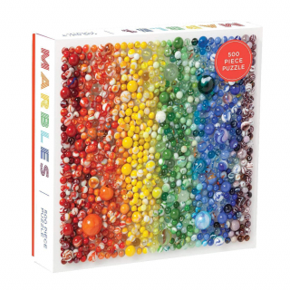 Image of Rainbow Marbles : 500 Piece Puzzle