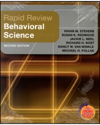 Image of Rapid Review Behavioral Science 2nd Edition