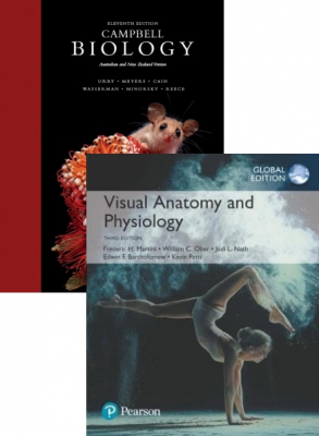 Image of Campbell Biology 11th Anz Edition + Visual Anatomy And Physiology 3rd Global Edition Value Pack