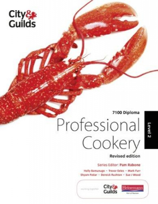 Image of City & Guilds 7100 Diploma In Professional Cookery Level 2 Candidate Handbook
