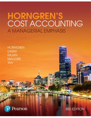 Image of Horngren's Cost Accounting : A Managerial Emphasis