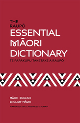 Image of Raupo Essential Maori Dictionary