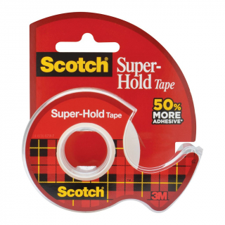 Image of Tape 3m Scotch Super Hold 19mm X 16.5m With Dispenser