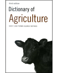 Dictionary Of Agriculture 3rd Edition