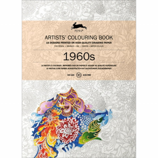 Image of 1960s Artists' Colouring Book