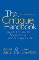 Image of Critique Handbook