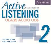 Image of Active Listening 2 : Class Audio Cds