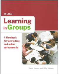 Image of Learning In Groups : A Handbook For Face To Face And Online Environments