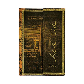 Image of Tesla 2020 Diary Day At A Time Mini Format