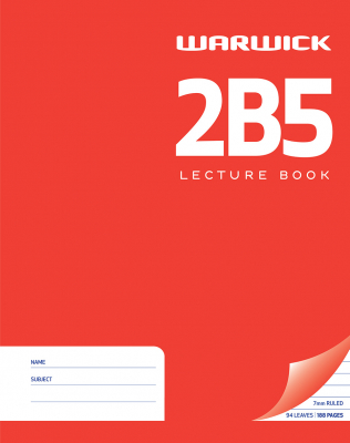 Image of Lecture Book Warwick 2b5