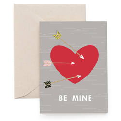 Image of Be Mine : Greeting Card