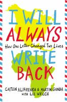 Image of I Will Always Write Back : How One Letter Changed Two Lives
