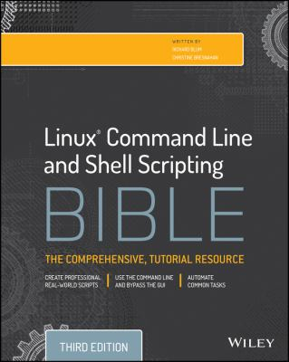 Image of Linux Command Line And Shell Scripting Bible