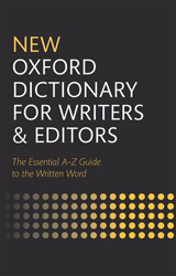 Image of New Oxford Dictionary For Writers And Editors