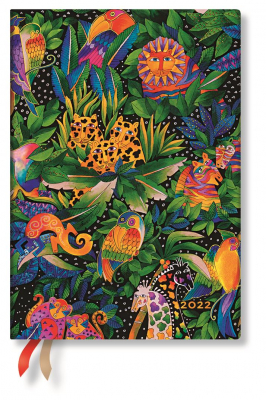 Image of 2022 Jungle Song Midi Week At A Time Flexi Diary