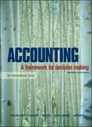 Image of Accounting : A Framework For Decision Making
